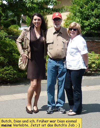 Svenja und ihre Ex Verlobte Dian und Butch